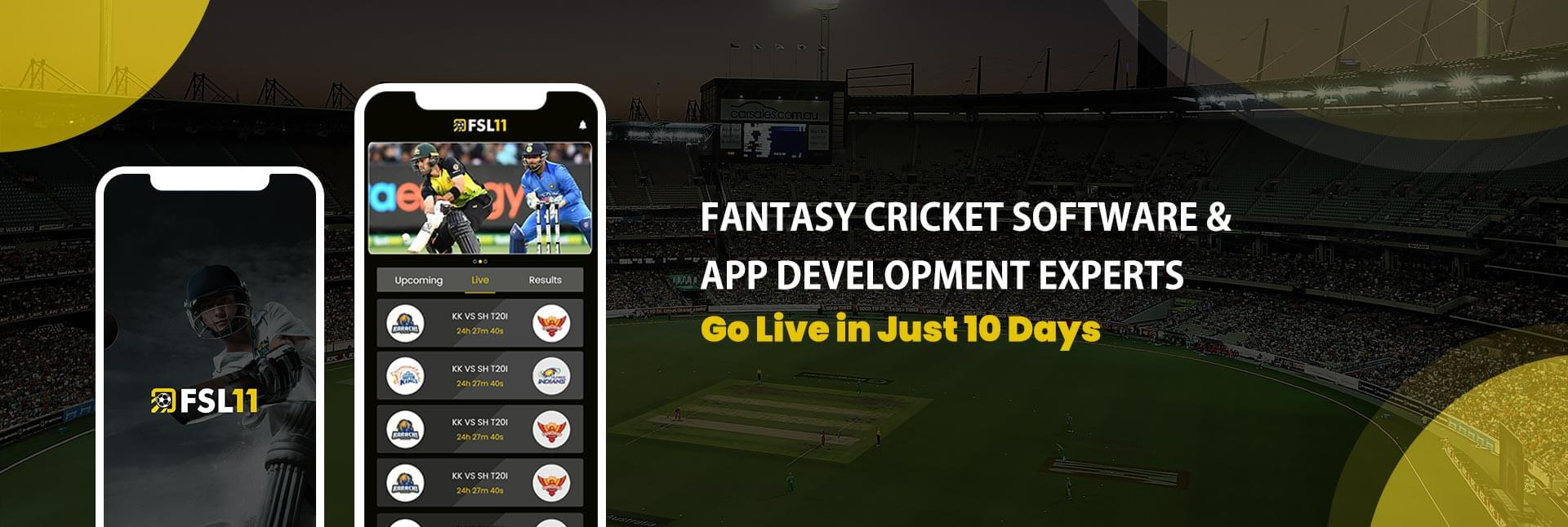 Fantasy Cricket Website Development