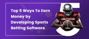 earn money by developing sports betting software